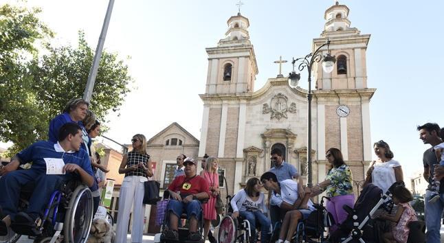 Ruta de Integracion en el barrio del Carmen, foto diario la Opinion de Murcia